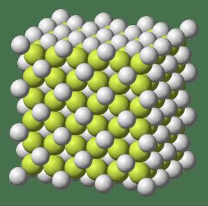 Calcium-fluoride-3D-ionic