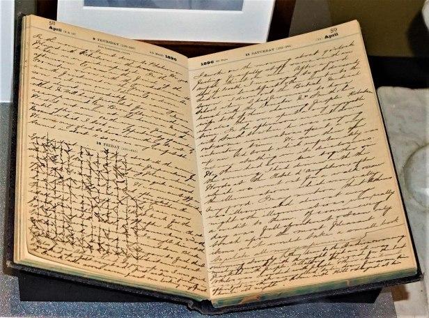 Edwin Flack's Diary - www.joyofmuseums.com - National Sports Museum