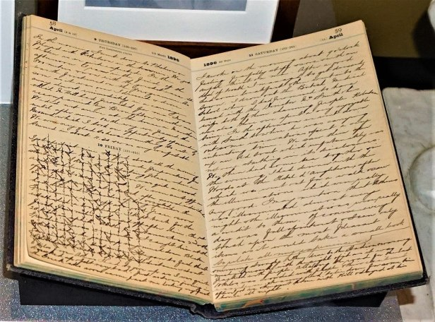 Edwin Flack's Diary - www.joyofmuseums.com - National Sports Museum