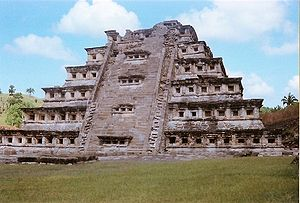 Pyramid of the Niches, {{w|El Tajín}}, Veracru...
