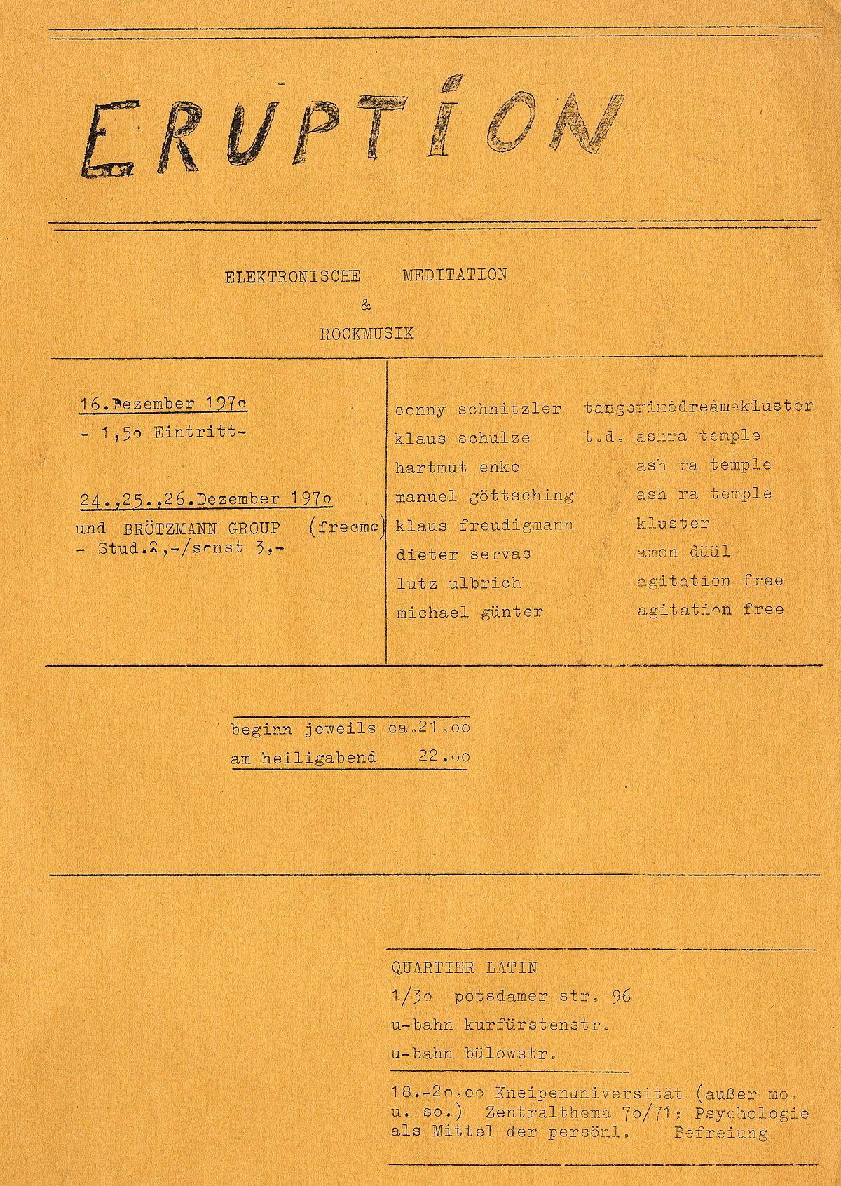 eruption deutsche band wikipedia