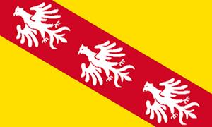 Flag of Lorraine.