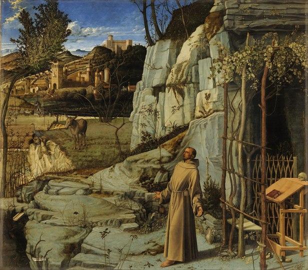 Giovanni Bellini - Saint Francis in the Desert