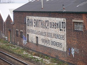 English: John Smiths' old factory This factory...
