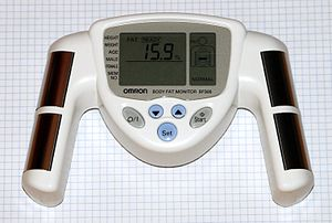 Omron BF306. Body fat monitor for the upper bo...