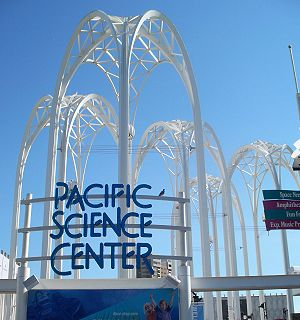 Pacific Science Center's exit
