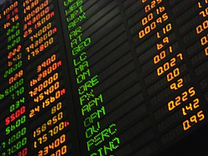 Phillippine stock market board