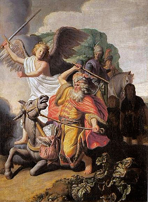 Rembrandt - Balaam