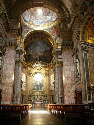 Interior, Santa Maria Maddalena, Rome