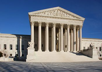 English: United States Supreme Court building ...