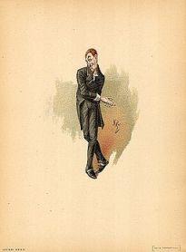 Uriah Heep 1889 Dickens David Copperfield character by Kyd (Joseph Clayton Clarke)