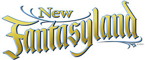 English: Logo for New Fantasyland -- the expan...