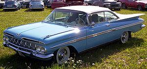 English: 1959 Chevrolet Impala 2-door Hardtop