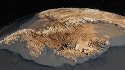 lossy page1 250px AA bedrock bedmap2.4960.tif - Terra Plana? Operação Ice Bridge da NASA cruza e mapea os Polos em aviões desde 2009