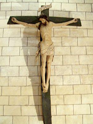 English: Crucifijo en la Iglesia de Nuestra Se...