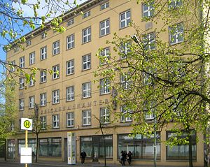 Former administration building of Deutsche Rei...