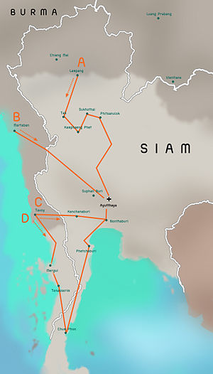 Burmese-Siamese war (1765-1767) map - EN - 001.jpg