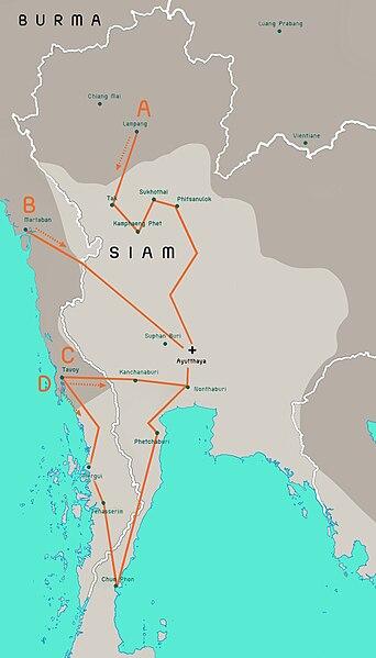 Tập tin:Burmese-Siamese war (1765-1767) map - EN - 001.jpg