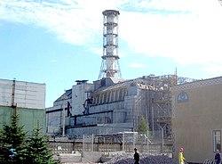 """il """"Sarcofago"""" del Reattore 4 di Cherobyl"""