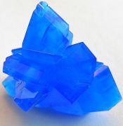 cristaux de sulfate de cuivre hydratés