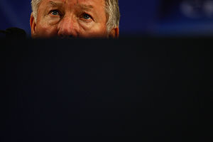 APRIL 15, 2009 - Football : Manager Sir Alex F...