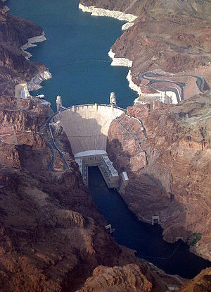Hoover Dam in Nevada (USA)