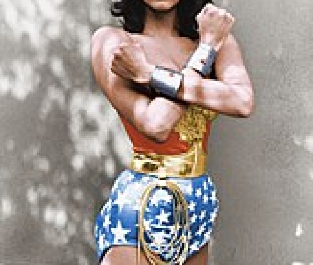 Lynda Carter As Wonder Woman In The 1975 1979 American Television Series Wonder Woman