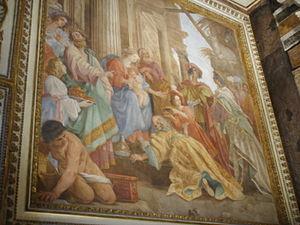San Luigi dei Francesi, affreschi