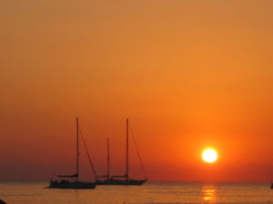 Sunrise at San Vito Lo Capo, Sicily (Italy)