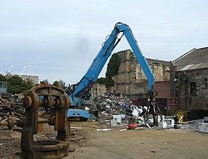 Scrap metal yard, Constitution Street Scrap me...