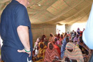 Sudan Envoy - Abu Shouk Women's Center