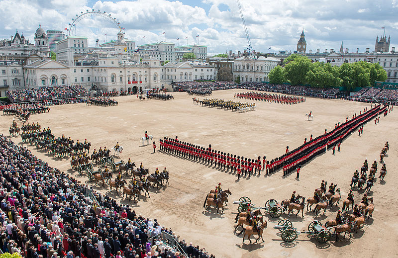 File:Trooping the Colour MOD 45155754.jpg