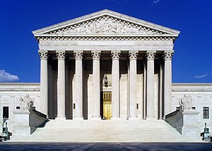 West face of the United States Supreme Court b...
