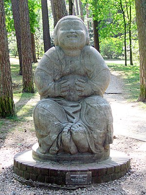"The ""Bonze des Humors"" (Laughing Buddha) by Be..."