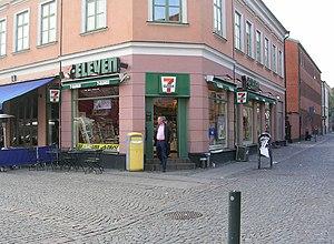 7-Eleven på Mårtenstorget i Lund