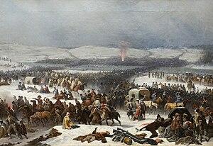 The Grande Armée Crossing the Berezina.