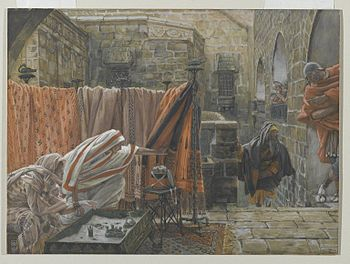Joseph of Arimathaea Seeks Pilate to Beg Permi...
