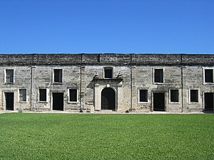 English: Photo of the Castillo de San Marcos f...
