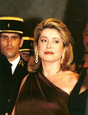 Français : Catherine Deneuve à la cérémonie de...