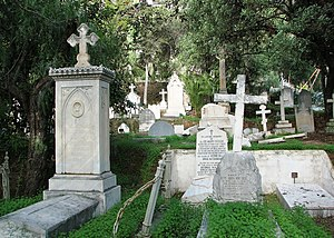 English: English Cemetery, Málaga, Spain