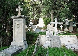 English: English Cemetery, Málaga, Spain