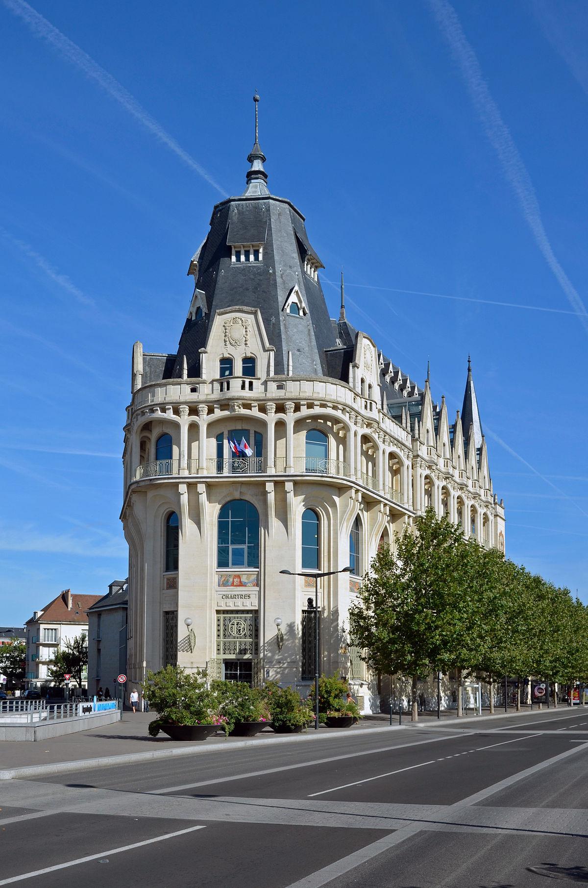 Htel Des Postes De Chartres Wikipdia
