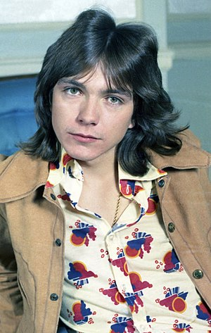English: portrait of David Cassidy