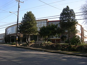 Eckstein Middle School, Seattle, Washington. T...