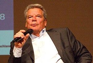 Deutsch: Joachim Gauck, Eröffnung des Geschich...