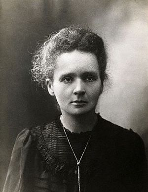 Portrait of Marie Skłodowska-Curie (November 7...