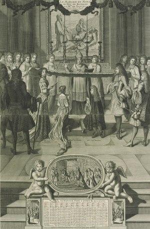 Marriage of the Duke of Bourbon to Mademoiselle de Nantes, 1685.jpg