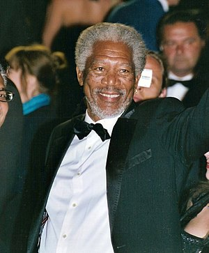 Morgan Freeman at the Cannes film festival.