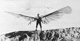 Otto Lilienthal, havadan ağır uçan bir makina yapan ilk adamlardan biri