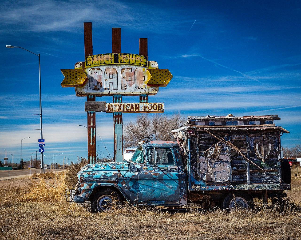 File Route 66 Tucumcari Nm 24539155360 Jpg Wikimedia